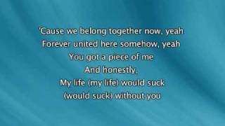 Kelly Clarkson - My Life Would Suck Without You [with lyrics]
