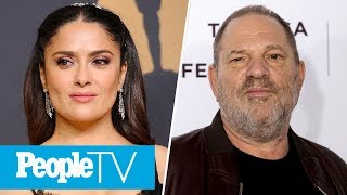Salma Hayek Claims Harvey Weinstein Threatened To Kill Her If She Refused His Demands | PeopleTV