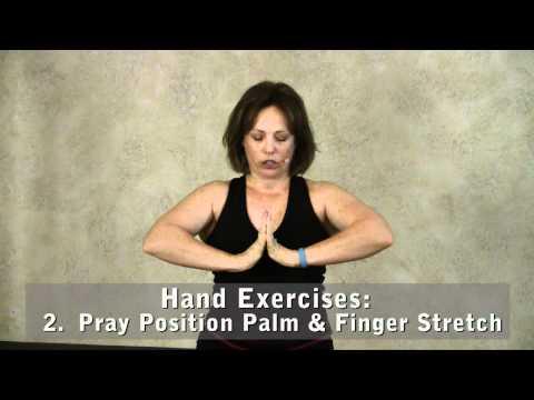 Screenshot of video: 3 Hand & Finger Exercises for Improved Flexibility