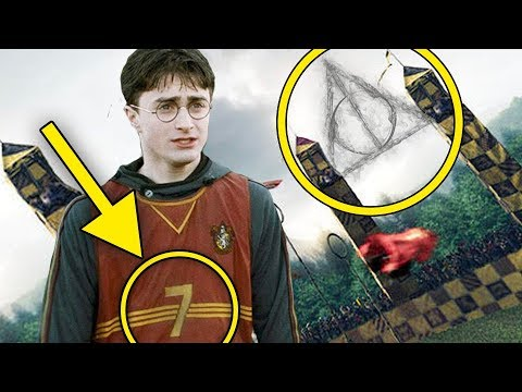 10 Easter Eggs In Harry Potter Films You Didn't Notice