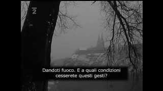 Intervista a Jan Palach   Primavera di Praga 1969