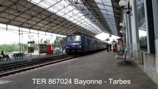 preview picture of video 'Pau railway station 05 14 2013'