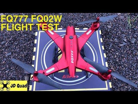 FQ777 FQ02W Flight Test - Courtesy of Banggood