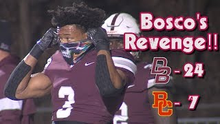 Don Bosco Prep 24 Bergen Catholic 7 | Non-Public Group 4 Quarterfinal | Ironmen Snap Four Game Skid