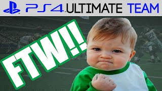 Madden 15 - Madden 15 Ultimate Team - GOING FOR THE WIN | MUT 15 PS4 Gameplay