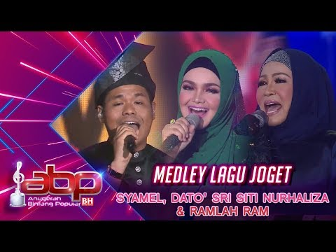 Syamel, Dato' Sri Siti Nurhaliza & Ramlah Ram - Medley Lagu Joget | #ABPBH31