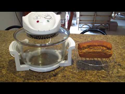 Healthy Convection Oven Easy Banana Bread & Recipe
