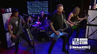 Metallica 'Sad but True' Live on the Howard Stern Show