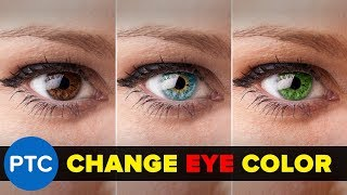 How To Change Eye Color In Photoshop - 90-Second Tip #06