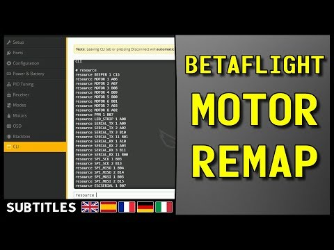 How To Fix A Bad Motor Output With Betaflight Resource