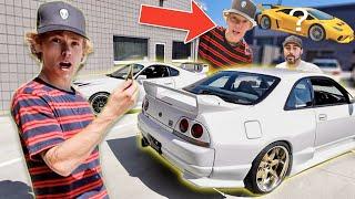 Shopping For My JDM Dream Car... + My Lamborghini Is Getting Wrapped!! (Big Pulls)