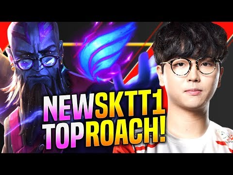 THIS is the NEW T1 TOPLANER! - SKT T1 Roach Plays Ryze vs Kennen Top! | Preseason 2020 Patch 9.23
