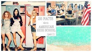 25 фактов об американской школе | ЧАСТЬ 1 | 25 Facts About American High School