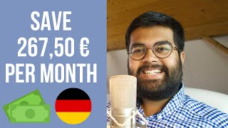 Save 267,50 Euros per Month in Germany: Blocked Account Complete Expenses Breakdown 🇩🇪