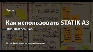 Как использовать инструмент The S.T.A.T.I.K. A3. Игорь Филипьев