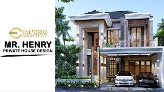 Video Mr. Henry Modern House 2 Floors Design- Jakarta