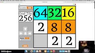 Challenge 8 - Make A 256 Tile In 3x3 2048