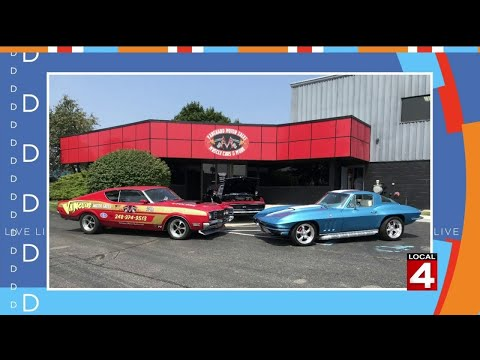 Live In The D: Check Out These Classic Cars At Vanguard Motor Sales In Plymouth