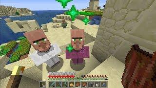 Minecraft sinh tồn 1.13.2 #25: Làm Bánh Và Đổi Thịt Zombie Lấy Lục Bảo