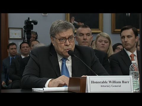 Attorney General William Barr says he will release a redacted version of special counsel Robert Mueller's report on the Russia investigation within a week. (April 9)