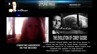 Christine Anderson Cult Of Personality The Evolution Of Corey Goode