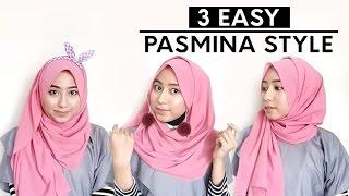Tutorial Hijab Pashmina Simple #20 - indahalzami