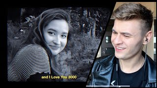First Time REACTION to Stephanie Poetri - I Love You 3000 (Official Music Video)