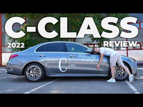 New Mercedes C-Class AMG Line 2022 Review Interior Exterior