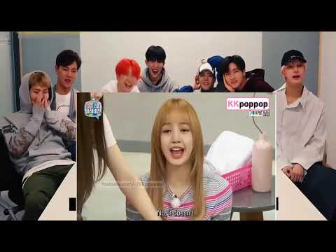 MONSTA X Reaction With Funny Situations Jennie (Mandoo of BLACKPINK)