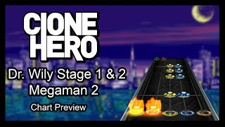 megaman 2 dr wily stage theme guitar hero - TH-Clip