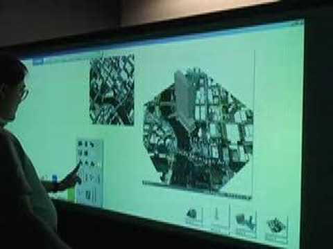 Autodesk Design: The Perceptive Pixel Multi-touch