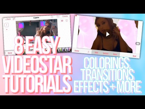 8 EASY VIDEOSTAR TUTORIALS ♡