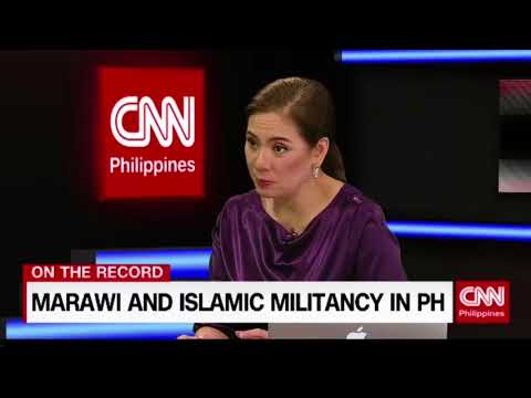 [CNN PH] On the Record: Marawi and Islamic Militancy in PH