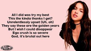 Olivia Rodrigo - brutal (Lyrics)
