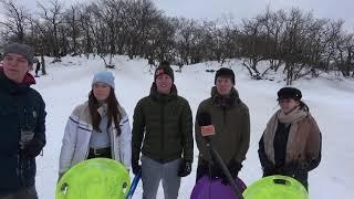 Sneeuwpret in Loonse en Drunense Duinen