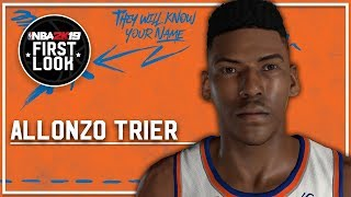 NBA 2K19 - How To Create Allonzo Trier (Realistic Jumpshot)