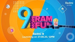 Redmi 9 Product Launch Event | #MoreRAMMoreFun  IMAGES, GIF, ANIMATED GIF, WALLPAPER, STICKER FOR WHATSAPP & FACEBOOK