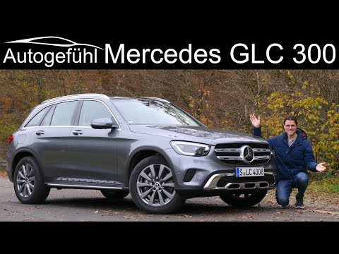 Mercedes GLC FULL REVIEW Facelift GLC 300 - better than the BMW X3?  Autogefühl