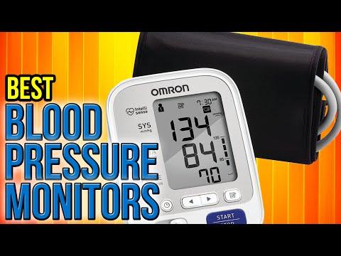 10 Best Blood Pressure Monitors 2017