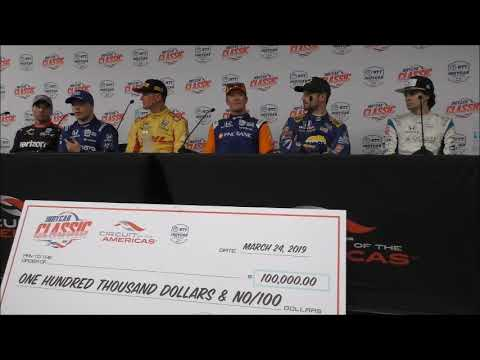 2019 IndyCar Saturday Press Conference