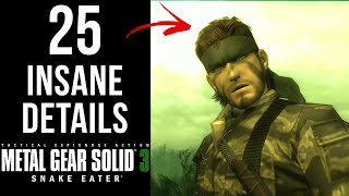 Download 25 INSANE Details in MGS3 MP3