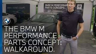 The BMW M Performance Parts Concept walk around at Goodwood Festival of Speed
