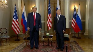President Trump,  Russia's Vladimir Putin hold joint news conference | ABC News