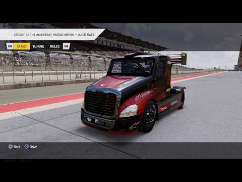 Truck Racing Championship - World Series Quick Race: Circuit of the Americas, Hard (3 Laps) * NC LP