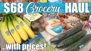 $68 Walmart Grocery Delivery Haul