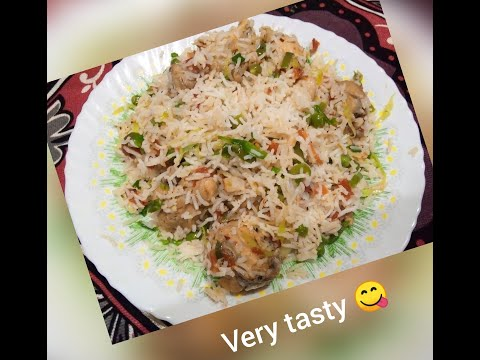 CHINESE RICE RESTAURANT STYLE VERY EASY AND DELICIOUS / Mouthwatering recipe