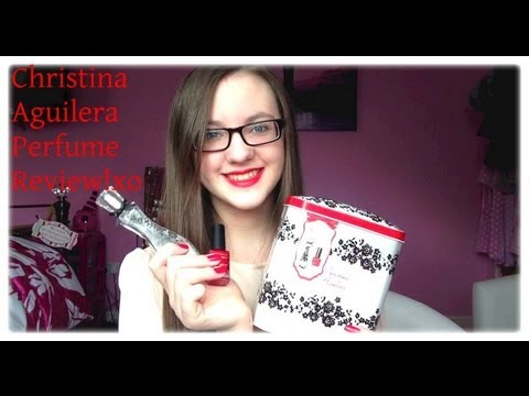 MinnieMollyReviews♡ Christina Aguilera Perfume Review!♡