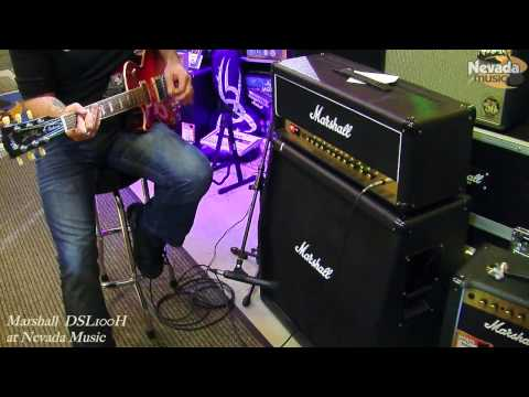 Marshall DSL100 Head demo with Chris George at PMT