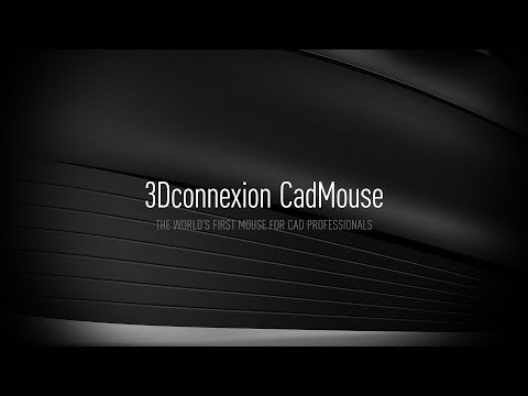 3Dconnexion CadMouse - The World's First Mouse for CAD Professionals