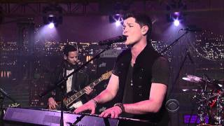 (High Quality Mp3) The Script - 'For The First Time' 1/18 Letterman (TheAudioPerv.com)
